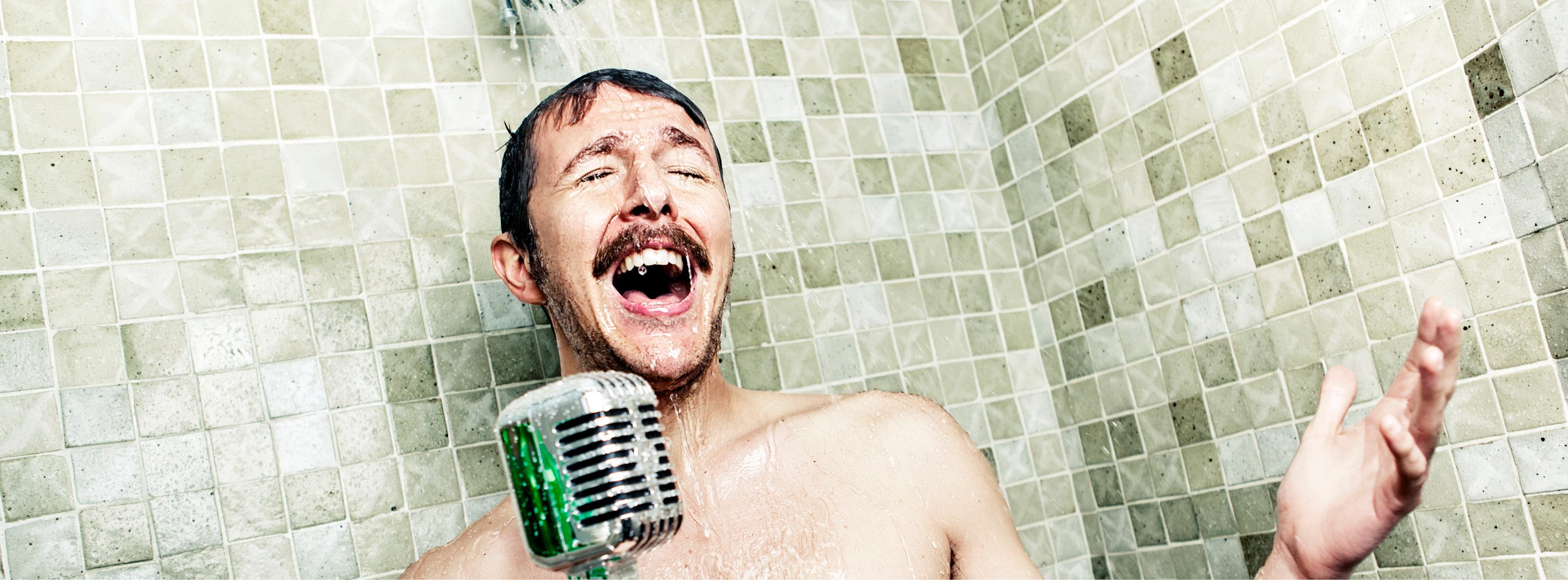 Image result for shower singing