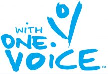 With One Voice logo rectangle